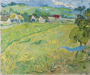 Gogh, Vincent, van (1853-1890) Thyssen-Bornemisza Collections 1890 65x55 Oil on canvas Postimpressionism France Landscape