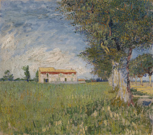 Gogh, Vincent, van (1853-1890) Van Gogh Museum, Amsterdam 1888 50x45 Oil on canvas Postimpressionism France Landscape